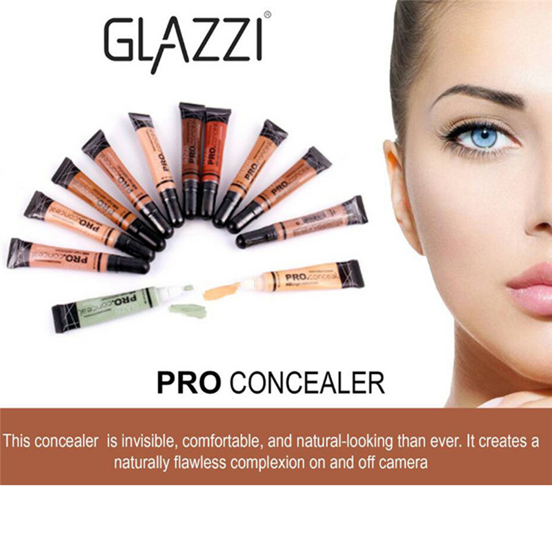 Concealer Foundation 9Color Optional Girl Face Base MakeUp Cover Dark Circles Freckle Cream Primer Cosmetic Waterproof Invisible