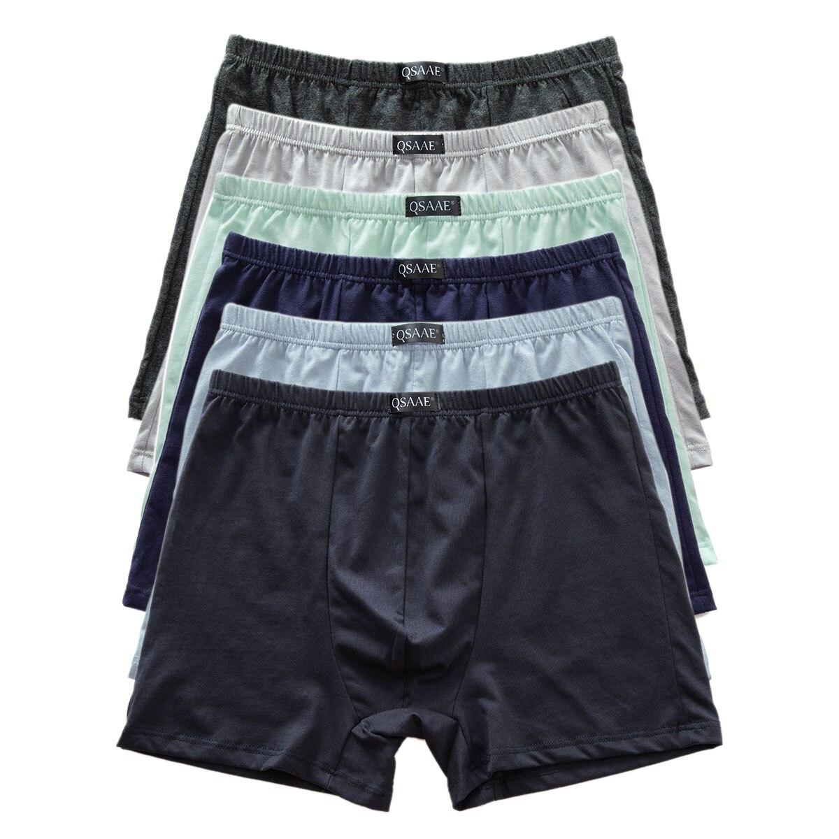 Transpirable ropa interior de gran tama/ño calzoncillo retro algod/ón de los hombres con 4 paquetes