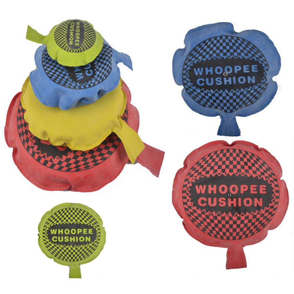 Creative Whoopee Cushion Pad Spoof Tricky Joke Gag Toy Pranks Maker Novelty Game