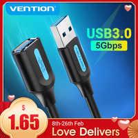 Vention-Cable de extensión USB 3,0 2,0 macho a hembra, extensor de datos para portátil, PC, Smart-TV, PS4, Xbox, One, USB a USB