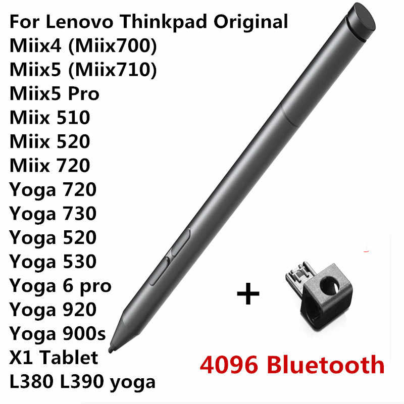 Active Pen 2 W Bluetooth For Lenovo Thinkpad Miix520 Miix510 Miix720 Miix710 Miix700 Miix525 Miix5 Miix5 Pro Miix4 Stylus Pen Aliexpress
