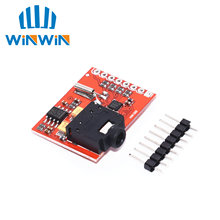 Si4703 fm tuner placa de avaliação sintonizador de rádio