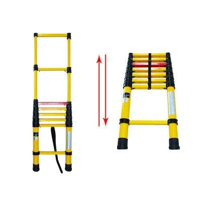 2.5M FRP circuit maintenance insulated ladder telescopic ladder power safety ladder portable folding ladder engineering ladder