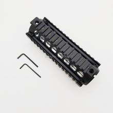 AR-15 Drop In Quad Rail Two Piece AR 15 Handguard Aluminum 6.7 inch for M4 M16 AR15