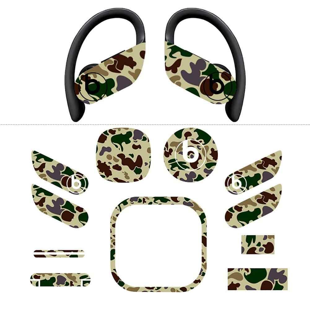 Casque autocollant décoratif écouteurs autocollants protecteur écouteurs autocollants Film pour beats powerbeats pro accessoires