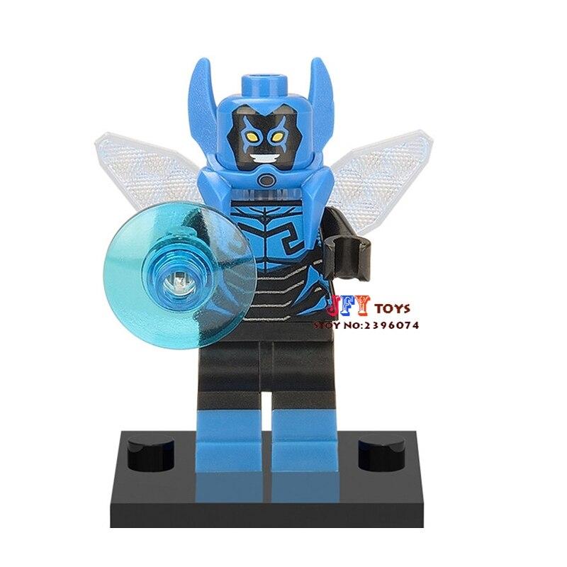 Single Sale Superhero Blue Beetle Building Blocks Model Bricks Toys For Children Action Figures