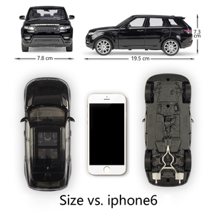 Image 2 - Модель литая автомобиля Welly масштаб 1:24, Игрушечная машина Land Rover Range Rover Sport SUV, игрушечный автомобиль из металлического сплава для детей, коллекция подарков