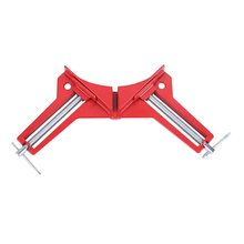 Aluminum Alloy 90 Degree Right Angle Clamp Picture Frame Corner Clamp Clip Woodworking Right Corner Holder Tool three dimensional right angle clip lab cross clamp laboratory metal grip supports laboratory clamp angular splint