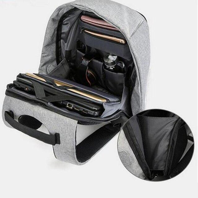 1 pcs Backpack Durable Energy-saving Exquisite Delicate Useful Solar Backpack for Backpacker Student Knapsacking 6