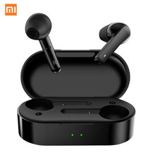 Xiaomi mijia t3 controle de toque sem fio fones de ouvido com microfone duplo bluetooth v5.0 esportes 3d fone estéreo para todos os telefones