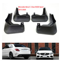 for Mercedes Benz C Class C-Class W205 2015~2020 Fender Mud Guard Flaps Mudguards Accessories C180 C200 C260 C300