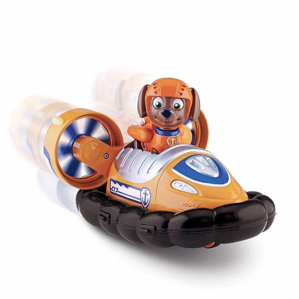 С принтом из мультфильма «Щенячий патруль набор игрушек для Everest трекер фигурку собаки из мультфильма «Щенячий патруль» для дня рождения с рисунком из аниме Рисунок патруль Paw patrulla canina, игрушка в подарок - Цвет: zuma