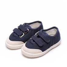 Spring New Kids Canvas Shoes Girls Boys Sneakers Children Flat Casual Shoes Baby Toddler Fashion Student Outdoor School Shoes
