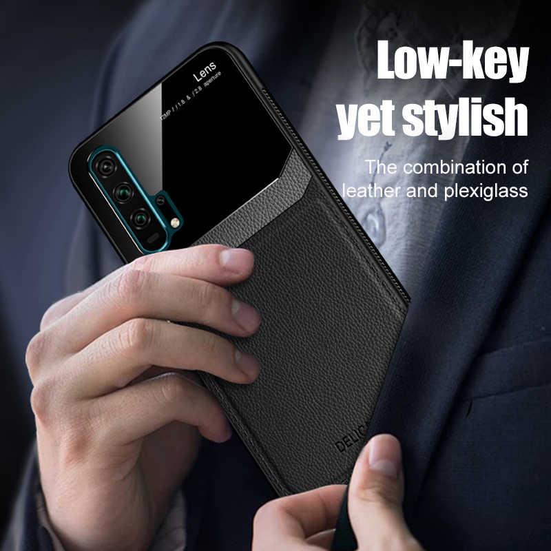 Bao Da Gương Dành Cho Huawei P30 Pro P20 P Thông Minh Smart2019 Ánh Sáng 2017 Nắp Kính Coque Chống Sốc Điện Thoại Cao Cấp Dễ Thương Ốp Lưng