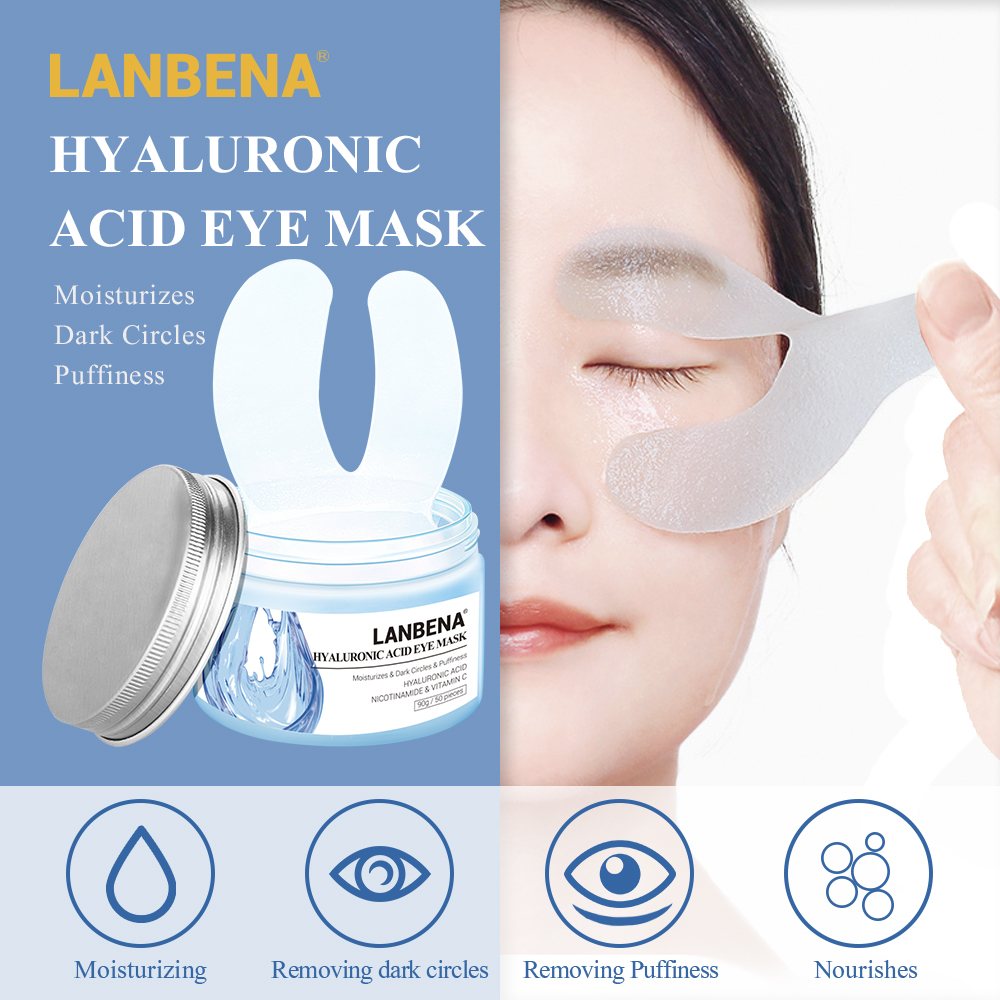 LANBENA Eye-Mask Bags Skin-Care Ageless Firming Lifting Dark-Circles Hyaluronic-Acid