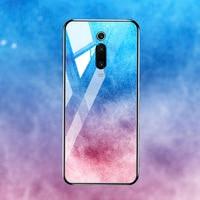 silicone case Tempered Glass Case For xiaomi mi 8 9 SE mix 2s Cases Space Silicone Covers for xiaomi mi 8 lite Pocophone F1 redmi K20 cover (5)