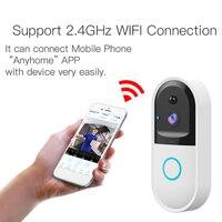 New Smart Wireless Doorbell Wireless WiFi Video Door Bell Home Security PIR Motion Detection Night Vision Two way Talk Door Bell