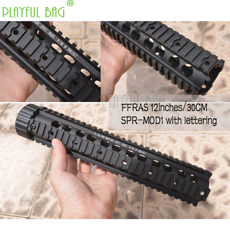FFRAS Upgrade Material Fishbone MK12-MOD1 Accessories  Black Bull AR-TTM-BD556 Modified Thread Port General Water Buller Gun M27