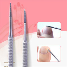 Toe Nail File Foot Nail Care Hook Ingrown Double Ended Ingrown Toe Correction Lifter File Manicure Pedicure Toenails Clean Tool