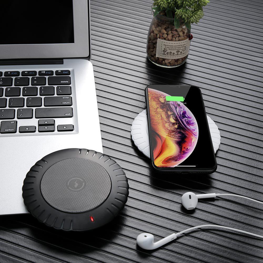 IMIDO Беспроводное зарядное устройство универсальное Qi Беспроводное зарядное устройство адаптер приемник модуль для iPhone X 6 7 8 Plus samsung note9 S7 S8 ...