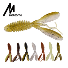 MEREDITH DoliveCraw II 74mm 95mm Fishing Lure Soft Lures Shad Silicone Baits Wobblers Swimbait Artificial leurre souple Tackle