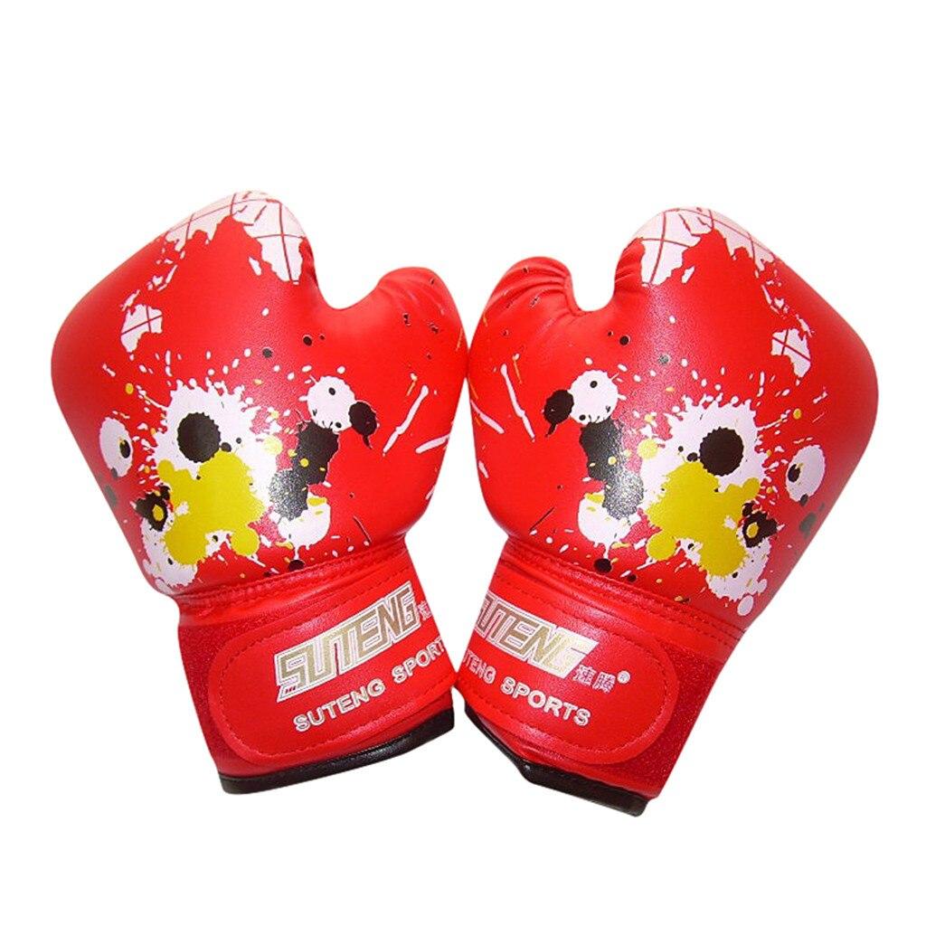 1Pair Children Cartoon Kick Boxing Gloves Kickboxing Punching Bag Training Fight Age 3 10 Kids Punch Training Equipment    - AliExpress