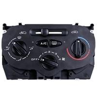Carro a/c aquecedor painel de controle 9624675377 condicionador ar interruptor temperatura para peugeot 206 207 307 citroen c2 picasso