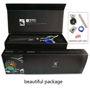 Image 5 - Forbici per capelli professionali affilate fatte a mano in acciaio inossidabile VG10 da barbiere Titan