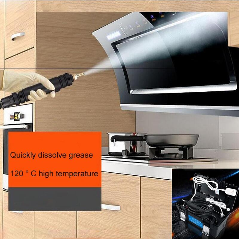 Пароочиститель высокой температуры и высокого давления коммерческий для бытовой техники вытяжка кондиционер чистящий инструмент