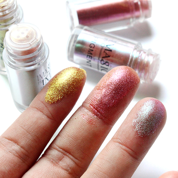 IMAGIC New Arrival Glitter Eyeshadow Metallic Loose Powder Waterproof Shimmer Pigments Colors Eye Shadow Makeup Cosmetics 2
