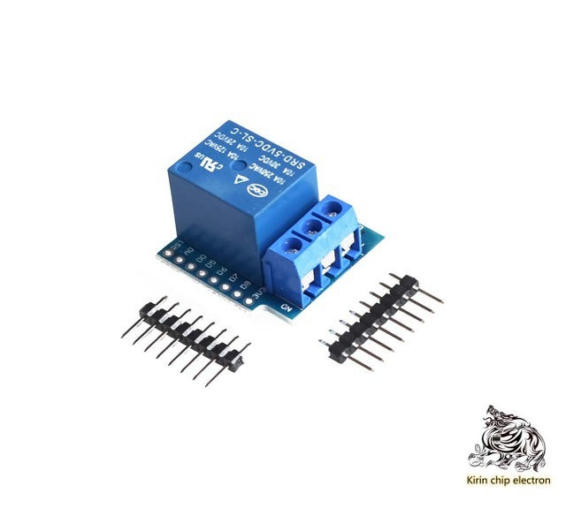 5pslot 1-way Relay Module High Level Trigger For D1 Mini WiFi Expansion Board Learning Board Relay Expansion