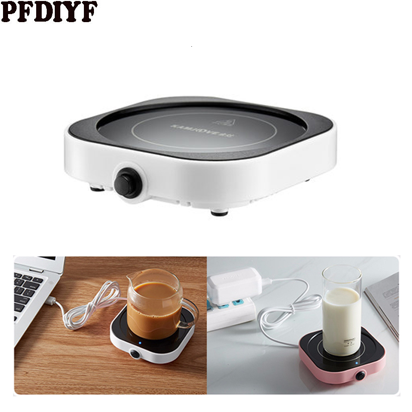 Resistant Electric Insulation USB Cup Coaster Warmer Mat Heater Beverage Supply