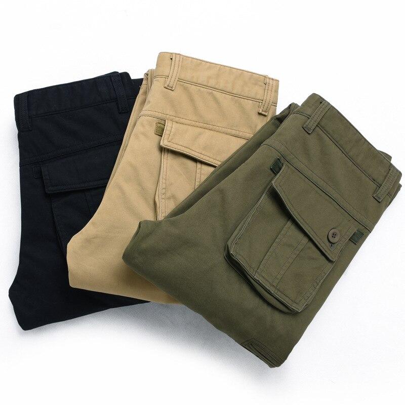2019 Autumn And Winter MEN'S Casual Pants Men's Mountain Climbing Trousers Plus Velvet Windproof Waterproof Warm Workwear Duo Ko