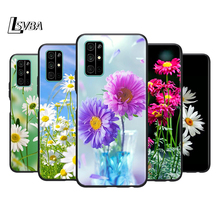 Silicone Cover Like daisy flower Phone Case for Huawei Honor 30 20 Pro 10i 9A 9S 9X 8X 10 9 Lite 8 8A 7A 7C Pro silicone cover framed flower phone case for huawei honor 30 20 pro 10i 9a 9s 9x 8x 10 9 lite 8 8a 7a 7c pro