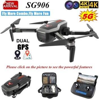 ZLL 2019 SG906 Dual GPS Drone 5G WIFI FPV con Selfie plegable 4K HD Cámara Drone RC Drone plegable Quadcopter 800m de larga distancia 2