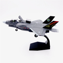 1:72 1/72 Scale US Army F-35 F-35B F35 Lightning II Joint Strike Jet Fighter Diecast Metal Plane Aircraft Model Children Toy стоимость