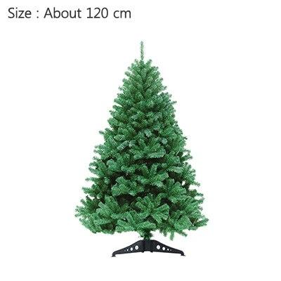 Strongwell 45/60/90/120 см Шифрование зеленое дерево мини искусственная Рождественская елка украшения светодиодное Рождественское украшение Декор - Цвет: 120cm
