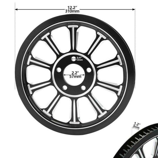 Harley Rear Wheel Rim + Hub + Belt  4