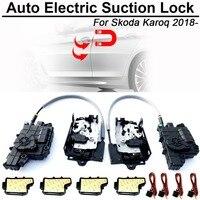 Fechadura da porta elétrica da sução do carro do automóvel esperto de carbar para skoda karoq