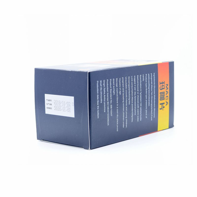 Maca Tablet Tablet Candy This Product Cannot Replace Drugs Kangrui Sport Te 0.7 G/piece * 100 Pieces/bottle 24 Maca, Ginseng 4
