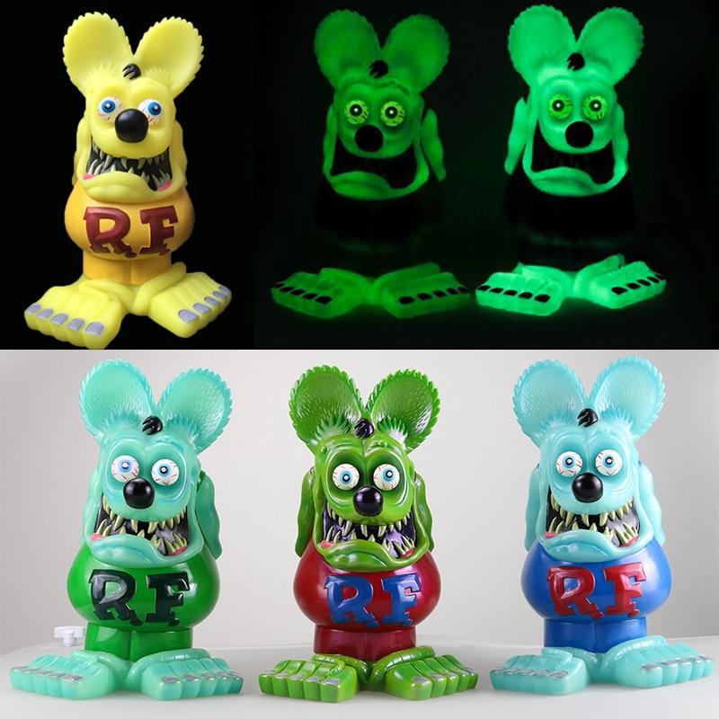 Green Rat Fink Bobblehead Big Daddy Gift Wacky Wobbler Legends Action Figure