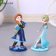 цена на 9.5cm Princess elsa doll Anna Children Girls Toys Birthday Christmas Gifts For Kids Sharon Dolls