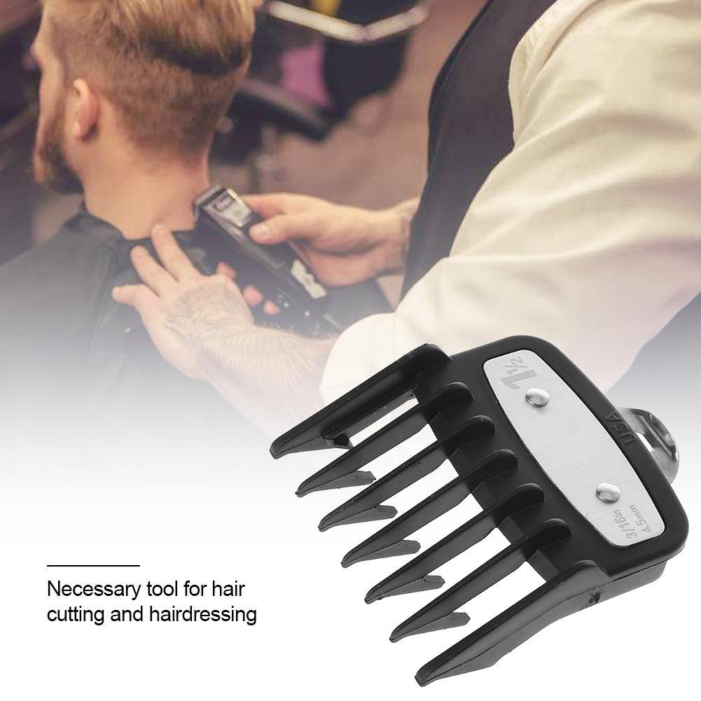 Clip de Metal Universal de 2/8/10 Uds. Para cortar el pelo, peine de límite, accesorio de guía de tamaño, reemplazo de peluquero