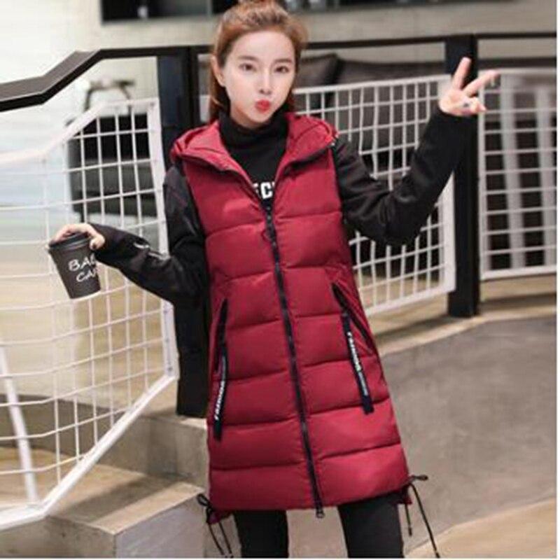 Брендовая зимняя женская куртка Br 2021, ветрозащитная теплая длинная хлопковая жилетка, повседневное женское пальто без рукавов с капюшоном, ...