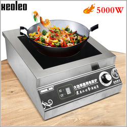 XEOLEO 5000W Commercial Induction cooker Electromagnetic Heating Cooker Electromagnetic Stove Electromagnetic Flat furnace