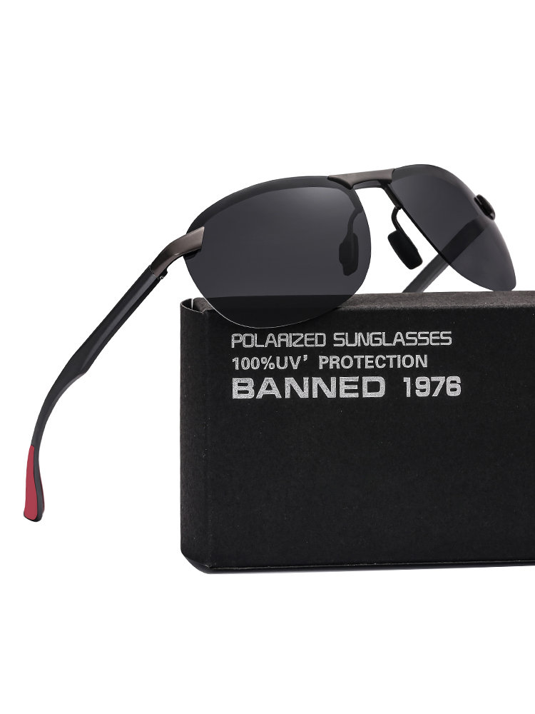 Men Sunglasses Oculos Hinges Polarized Latest-Quality Women Fashion Brand-New UV400