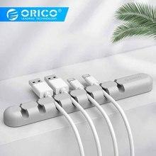 ORICO CBS устройство для сматывания кабеля, органайзер для кабеля наушников, кремниевое зарядное устройство, держатель кабеля, зажимы для MP3, MP4, мыши, наушников