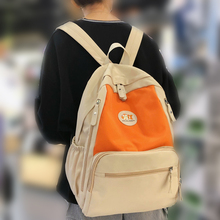 New Waterproof Nylon Backpack Female Panelled Travel Back Pack fashion Girls Schoolbag for Teenagers Multilayer Book Bag Mochila