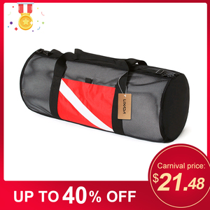 Image 1 - Mesh Duffel Gear Bag Snorkel Equipment Carry Bag for Mask Snorkel Fins Scuba Diving Surfing Gear Fitness sports Gym bag Unisex