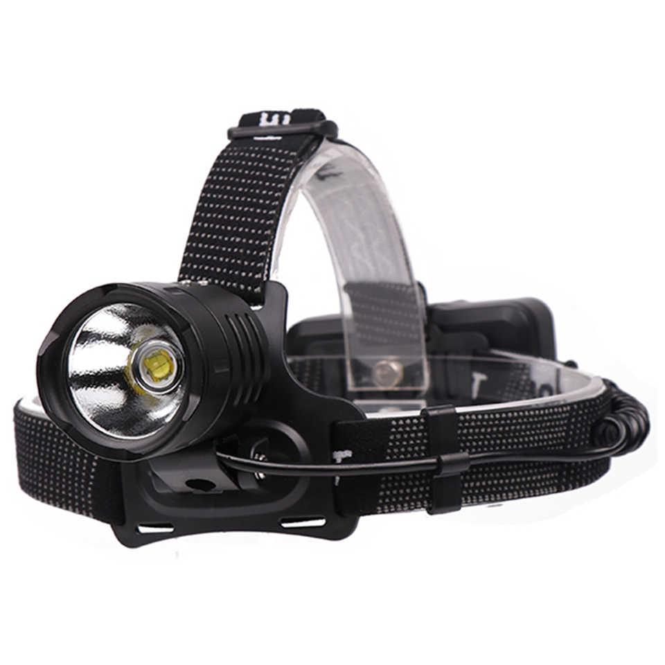 Nouveau XHP70.2 32W 8000lm puissant Led lampe frontale phare zoom tête lampe de poche torche lanterne 7800mah 18650 batterie